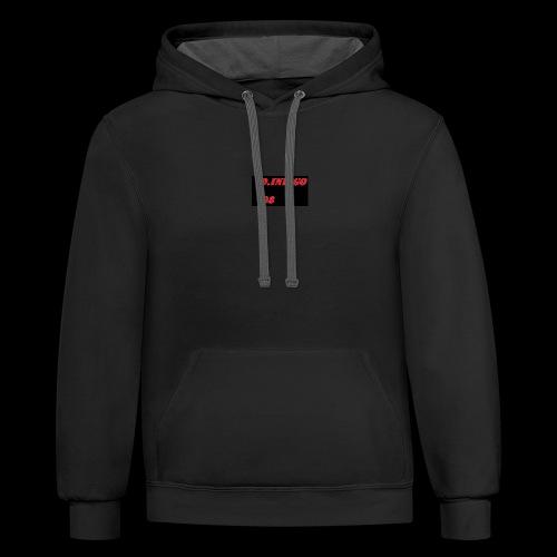 team logo - Contrast Hoodie