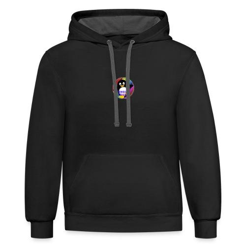 Penguin Squad - Contrast Hoodie