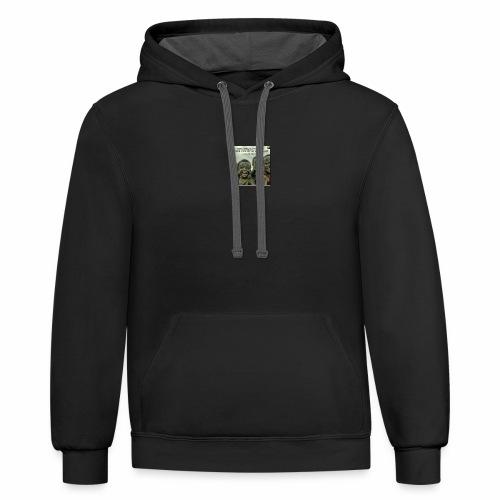 ubong t-shirts - Contrast Hoodie