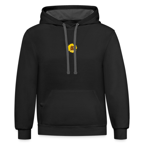You are my sunshine Flower - Contrast Hoodie