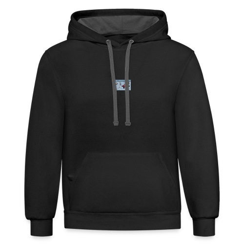 ace colab - Contrast Hoodie