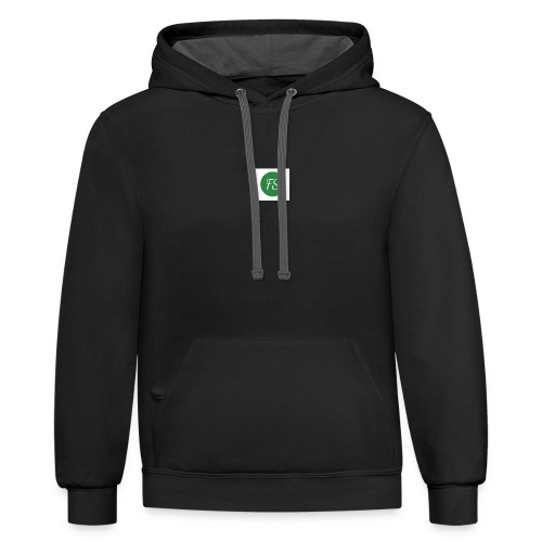 feelstrong logo - Contrast Hoodie