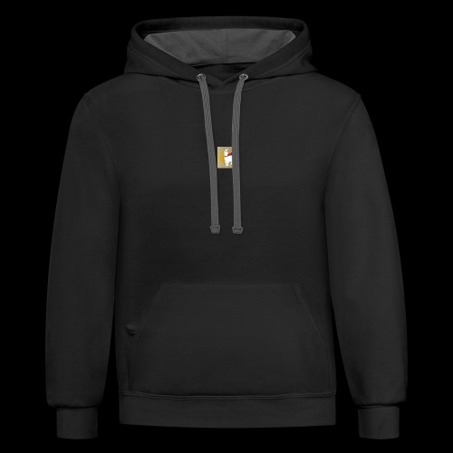 Llama t-shirt - Contrast Hoodie