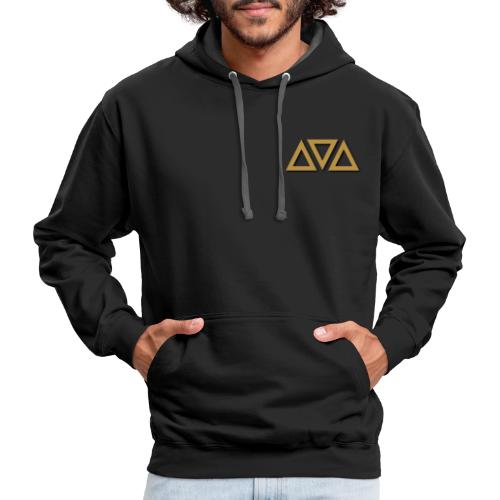 BC Triangles - Contrast Hoodie