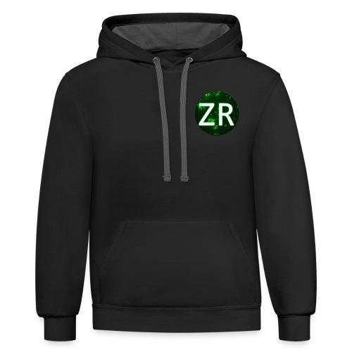 Zion raider - Contrast Hoodie
