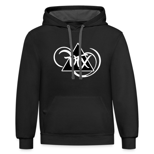 VFX Black And White - Contrast Hoodie