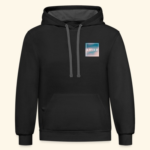 We Are Loved - Contrast Hoodie