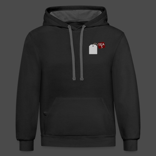 Tea Design The SECOND ONE - Contrast Hoodie
