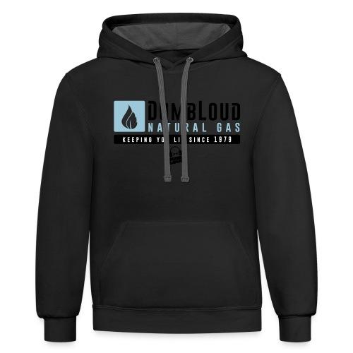 DUMBLOUD NATURAL GAS - Contrast Hoodie