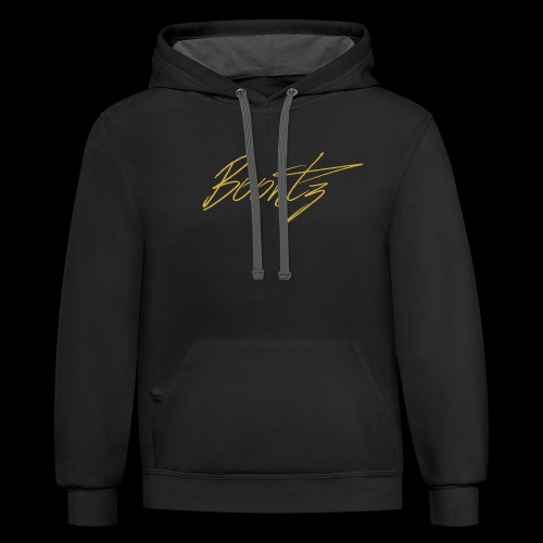 Gold Limited Boontz Signature - Contrast Hoodie