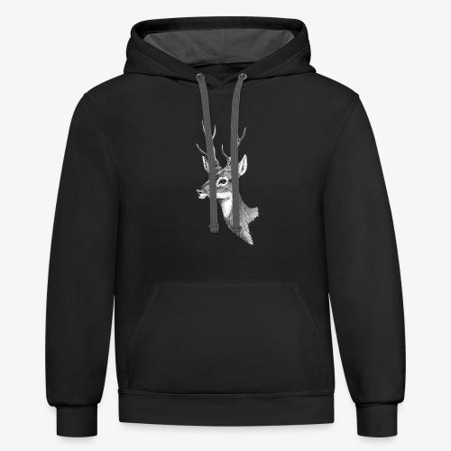 Wild Deer - Contrast Hoodie