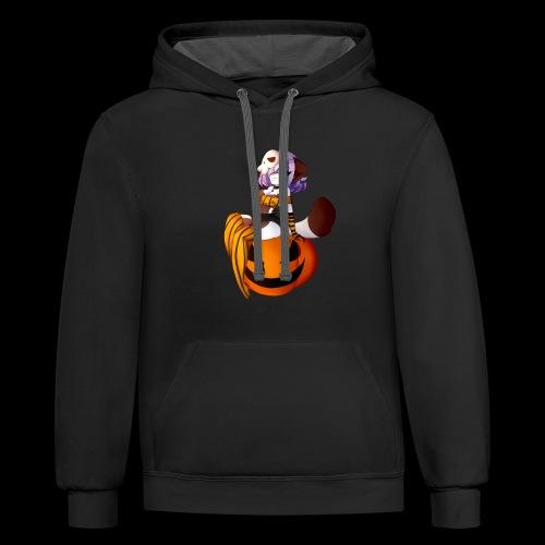 Halloween Mara - Contrast Hoodie