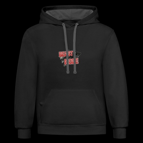 BEAST OFFICIAL NEW - Contrast Hoodie