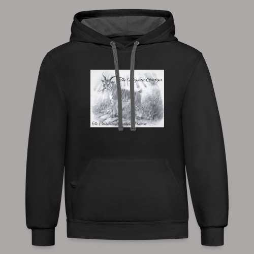 The Majestic Goatger - Contrast Hoodie