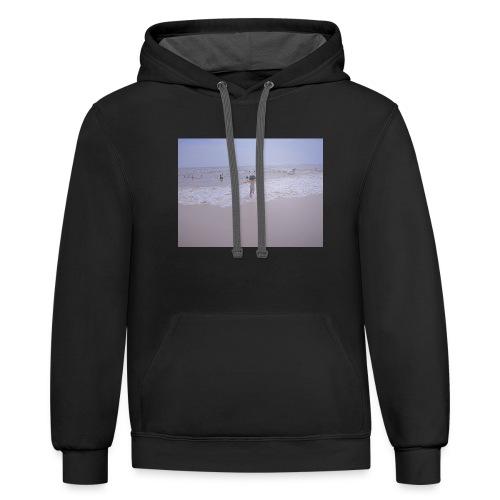 Beach vibes - Contrast Hoodie