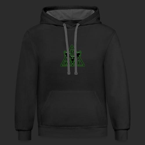 Dark WT Logo - Contrast Hoodie