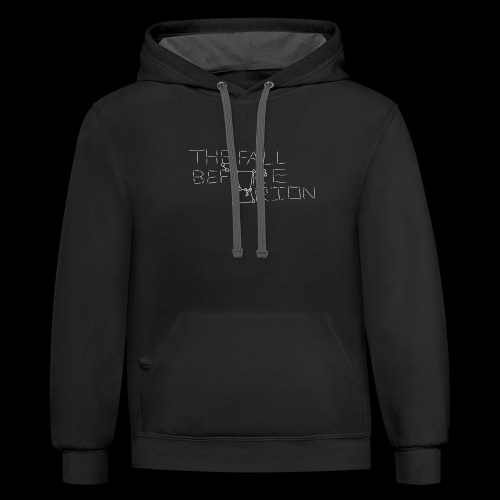 The Fall Before Orion Logo (White) - Contrast Hoodie