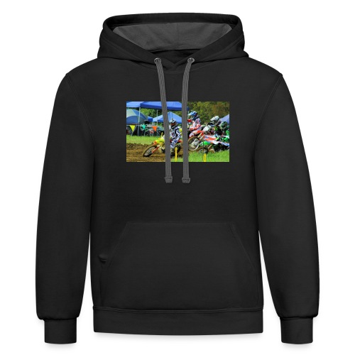 Briarcliff Battle for Ohio2013 525 - Contrast Hoodie