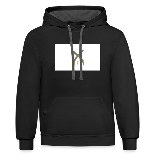 The Crep Architect: X melts - Contrast Hoodie