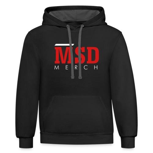 MSD Merch - Contrast Hoodie