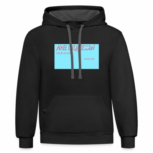 Be a bessonater - Contrast Hoodie