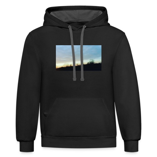 my little part of the world - Contrast Hoodie