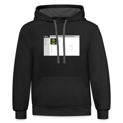 test design234 Design - Contrast Hoodie