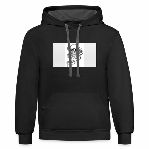 New Drawing - Contrast Hoodie