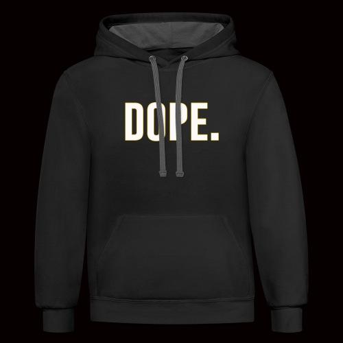 Dope - Contrast Hoodie
