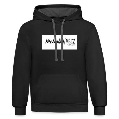 MellowVibez - Contrast Hoodie