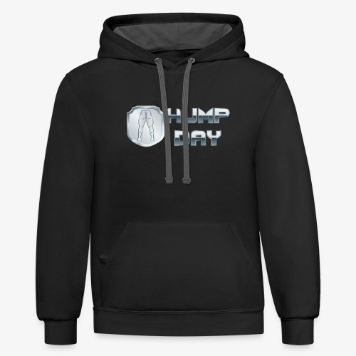 shirt HUMPDAY 02 - Contrast Hoodie