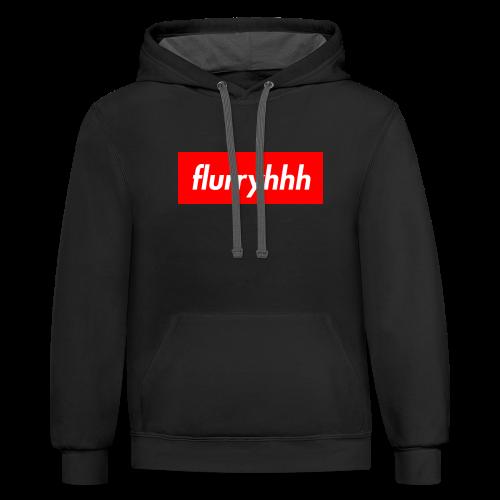 flurry - Contrast Hoodie