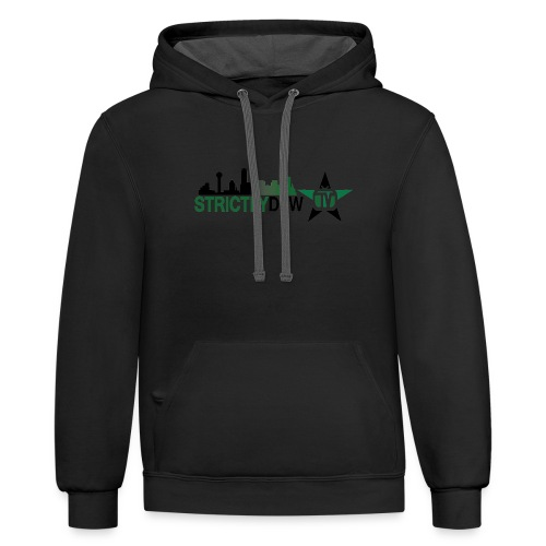 Strictly DFW TV Apparel - Contrast Hoodie