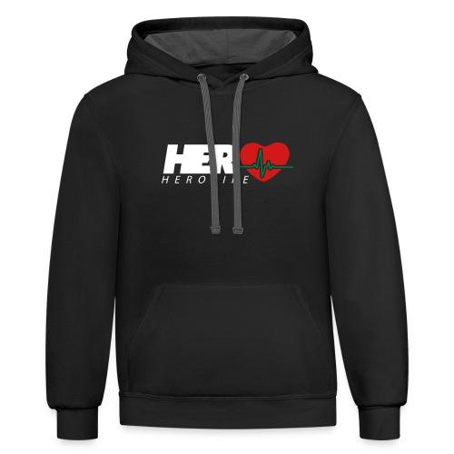 HeroLife Lifeline - Contrast Hoodie