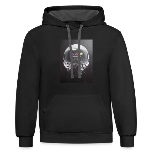 Let the games begin - Contrast Hoodie