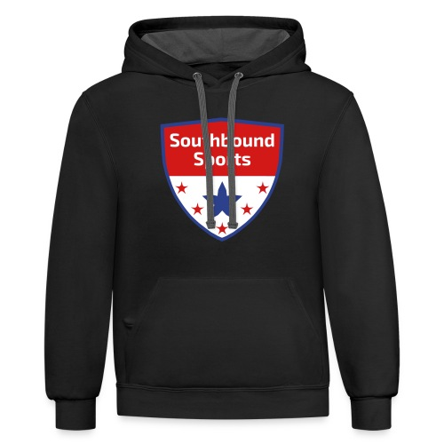 Southbound Sports Crest Logo - Contrast Hoodie