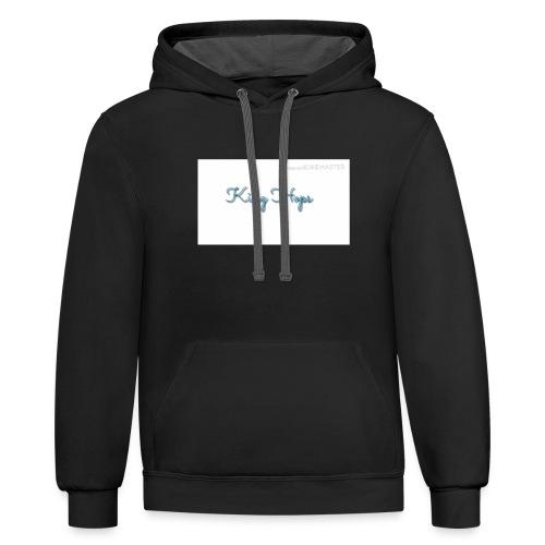 King Hops T-shirt - Contrast Hoodie