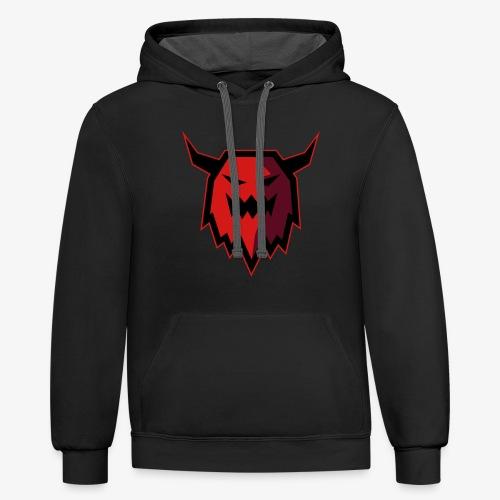 Monster Viking - Contrast Hoodie