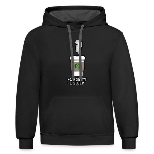 Pixel Coffee - Contrast Hoodie