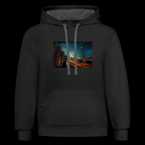 City Nights - Contrast Hoodie