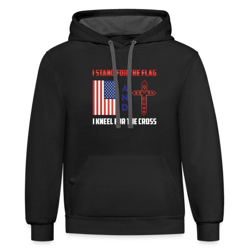 405 I STAND FOR THE FLAG - Contrast Hoodie