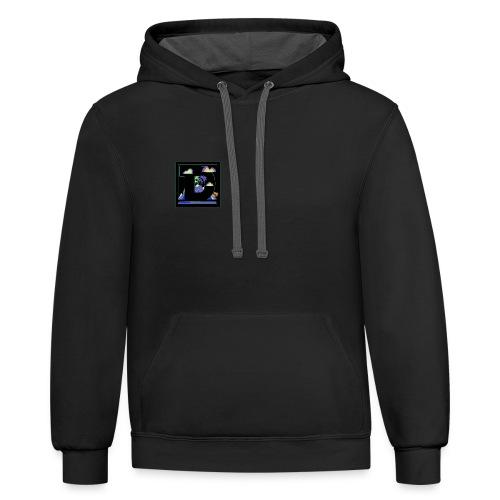 DLTA retro logo - Contrast Hoodie