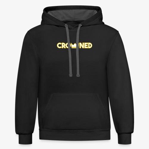 CROWNED shirt - Contrast Hoodie