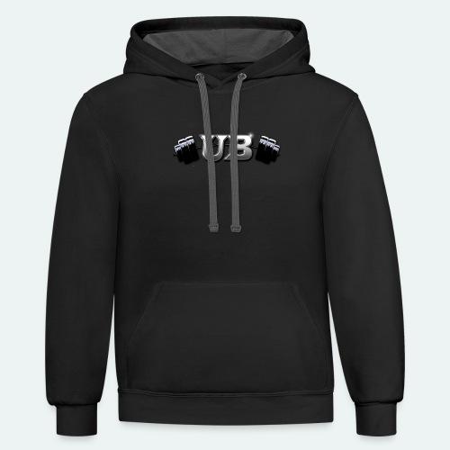 UB STRENGTH - Contrast Hoodie