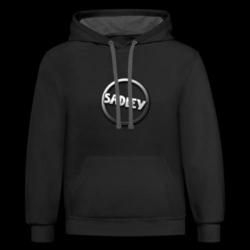 Sadley Design 1 - Contrast Hoodie