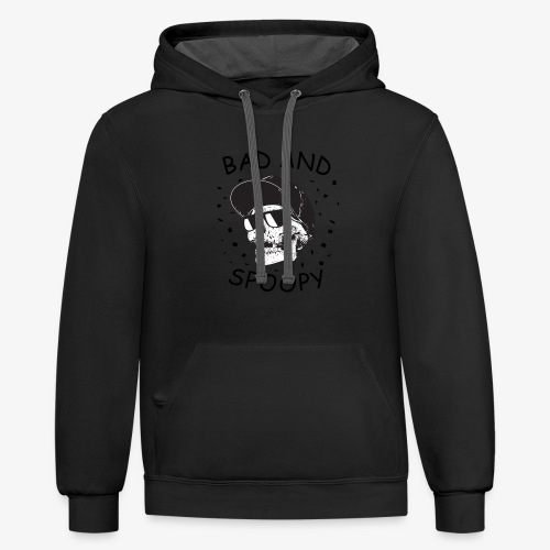 Bad and Spoopy - Contrast Hoodie