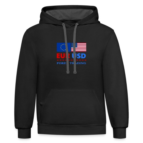 FOREXTRADING - Contrast Hoodie