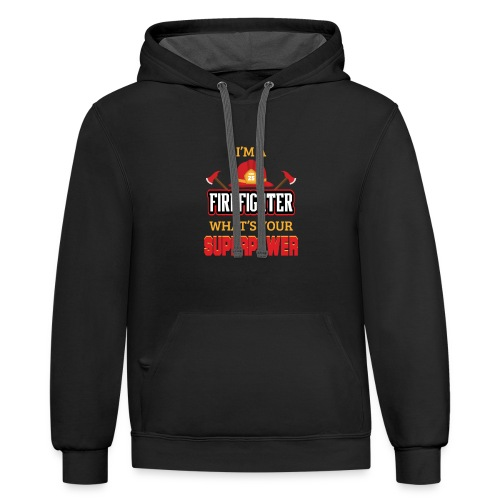 What's your superpower - Contrast Hoodie