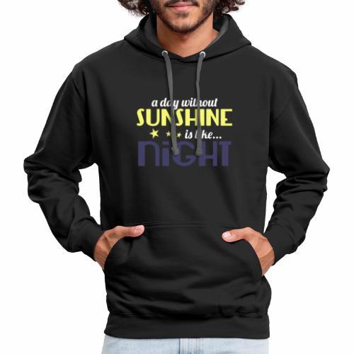 Sunshine - Contrast Hoodie