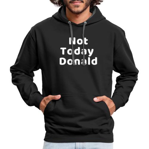 Funny Anti Trump Midterm Election Campaign T-Shirt - Contrast Hoodie